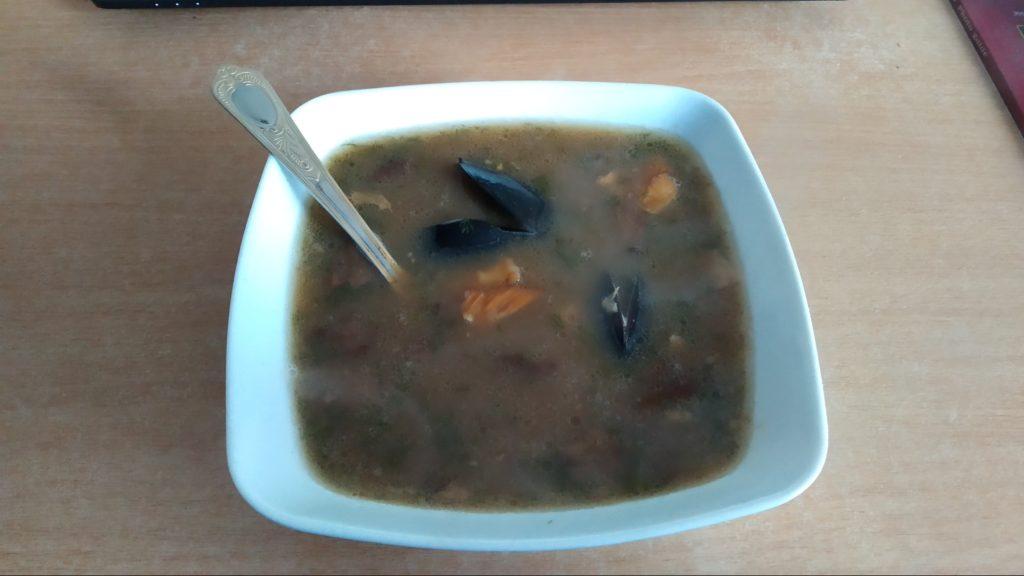 Zupa rybna z Nienażarty
